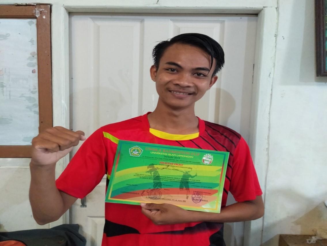 Tim UKM Badminton Universitas Muhammadiyah Lamongan